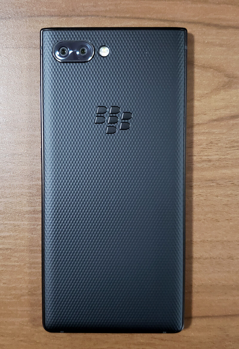 BlackBerry KEY2 裏面